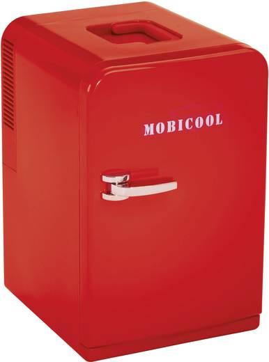 Mini hűtőszekrény piros színű 15l-es 12V/230V MobiCool F15
