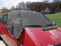 Mágneses szélvédő takaró és oldalablak takaró, szállító járművekre, kisbuszra 340 cm x 97 cm APA 16183 APA