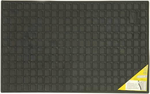 Gumiszőnyeg autóhoz, sejtmintás, 41 x 60 cm, fekete, Clip