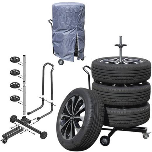 Keréktartó abroncsfa, keréktartó állvány kerekekkel Dino Wheel 130002