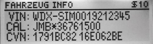 Kézi hibakódkiolvasó OBD II csatlakozókhoz, Diamex DX65, 7101