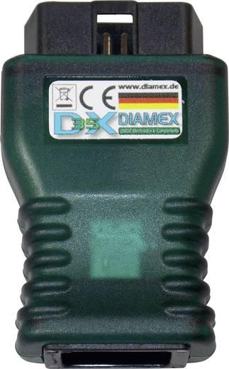 Diagnosztikai interfész OBD II csatlakozókhoz, Diamex DX35, 7104
