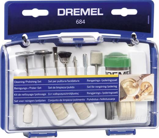 DREMEL 684 Tisztító- és polírozó készlet 20 részes, 26150684JA