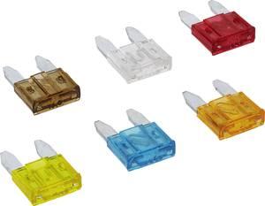 Mini lapos biztosíték készlet, 6 részes, 5/7,5/10/15/20/25 A (20356) FixPoint