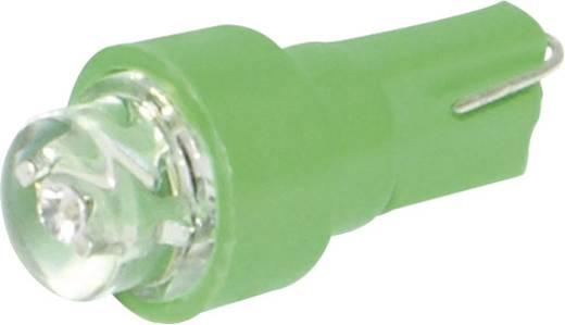 Eufab LED-es műszerfallámpa, 12V, T5, zöld, 5 db