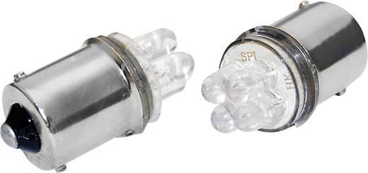 12V-os LED izzó fehér BA15s