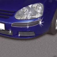 Autó díszléc, díszcsík, króm, 3000 x 4 x 7 mm