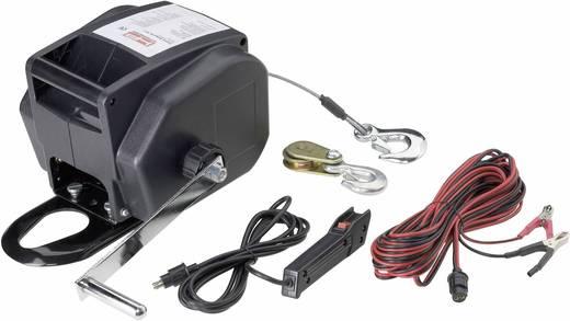 Autós 12V csörlő, vezetékes és vezeték nélküli távirányítóval 900 kg/2700kg-ig 856330