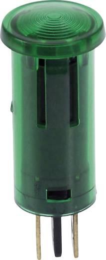 Ellenőrzőlámpák 12 V 0.7 W Zöld Tartalom: 1 db