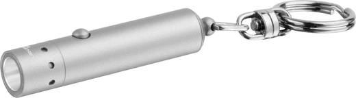 LED-es kulcstartós zseblámpa, 100 óra, 17 g, ezüst, LED LENSER V9 Mikro 7513