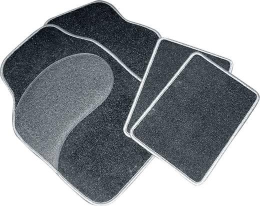 Autós szőnyeg készlet fekete/zöld