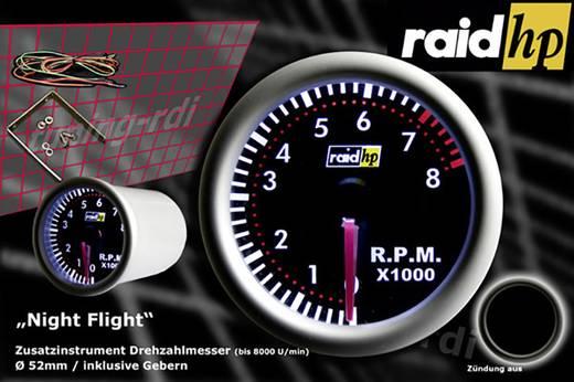 Fordulatszámmérő műszer autóba Rapid hp NightFlight