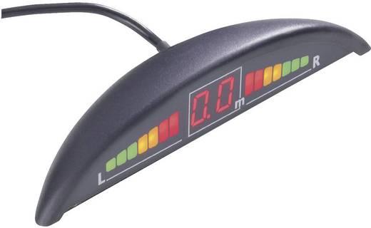Parkolássegítő ultrahangos tolatóradar 4 érzékelővel, LED-es kijelzővel