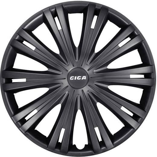 Autó dísztárcsa készlet 4 db, fekete (matt), Giga R14