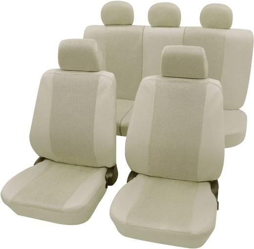 Autó üléshuzat készlet 11 részes bézs
