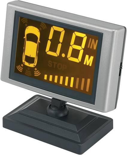 Első- és hátsó parkolást segítő rendszer, 8 szenzor