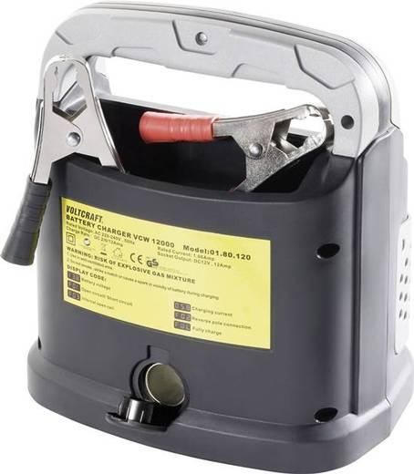 Autó akkumulátor töltő, gyorstöltő funkcióval 12V 12A, Voltcraft WCV12000