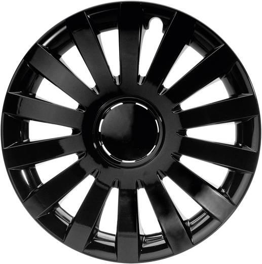 Autó dísztárcsa készlet 4 db, fekete, Wind R16