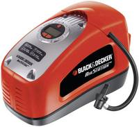 Elektromos autós kompresszor 12V/230V, 11bar, Black & Decker ASI 300 (ASI300-XJ) Black & Decker