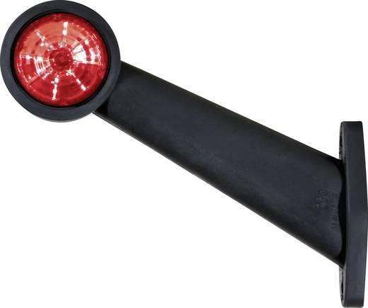 Szélességjelző pótkocsira, rögzítő karral, piros/fehér, 12/24 V, SecoRüt