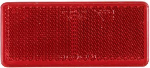 Reflektor, négyszög, piros, SecoRüt