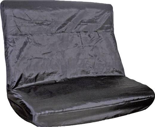 Autós hátsóülésvédő huzat, fekete, 28113