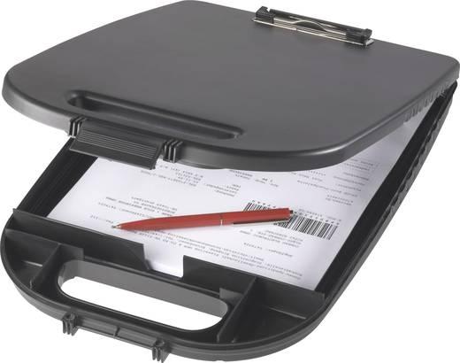 Autós irattartó alátét, dokumentum alátét tábla, tartóval 36305
