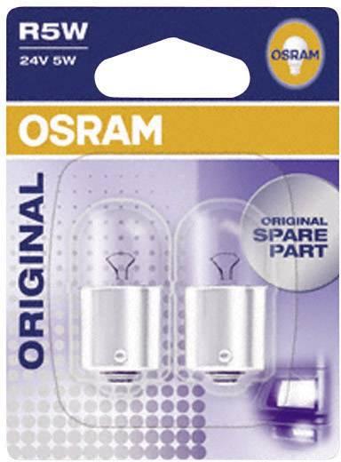 OSRAM Standard R5W 24 V 24 V 1 pár BA15s, átlátszó