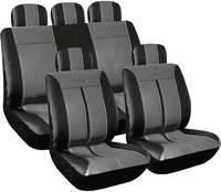 Autó üléshuzat készlet 11 részes, műbőr, Eufab 28288 (28288) Eufab
