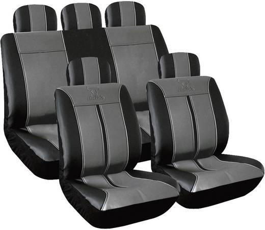 Autó üléshuzat készlet 11 részes, műbőr, Eufab 28288