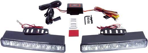 Devil Eyes LED-es nappali fényszórók, 6 LED, 230x35x100 mm