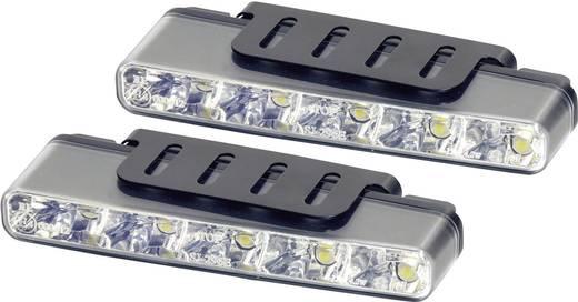 Devil Eyes LED-es nappali fényszórók, 5 LED, 160x25x55,1 mm, ezüst