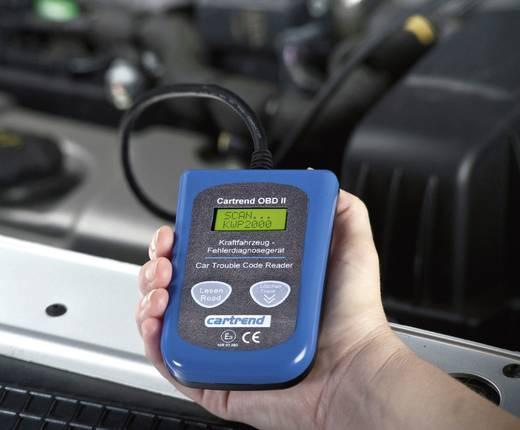 Gépjármű diagnosztikai műszer, hibakód kiolvasó OBD II, Cartrend