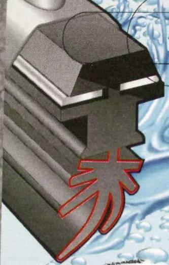 Ablaktörlő lapát Multi 7 400 mm