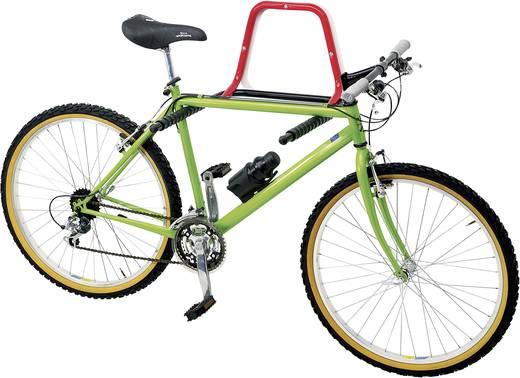 Fali biciklitartó, felhajtható gumírozott tartóval