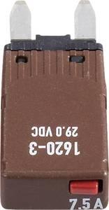 Mini automata lapos biztosíték 7,5 A, 1620-3-7,5A