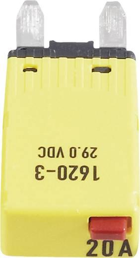 Mini automata lapos biztosíték 20 A, 1620-3-20A