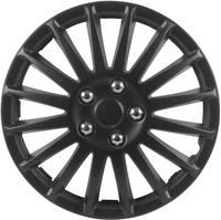Autó dísztárcsa készlet 4 db, fekete (matt), Suzuka R16 (75176) cartrend