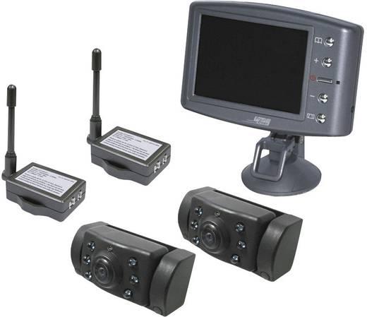 ProUser Vezeték nélküli tolatókamera rendszer 2 kamerával