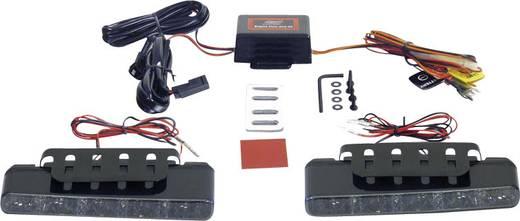 Devil Eyes LED-es nappali fényszórók, 5 LED, 160x25x55,1 mm, fekete