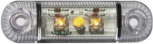 LED-es oldalsó helyzetjelző lámpa, rövid, narancs, 12/24 V, SecoRüt 61281