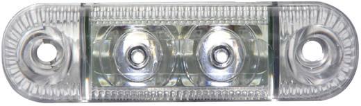 LED-es oldalsó helyzetjelző lámpa, rövid, fehér, 12/24 V, SecoRüt 61282