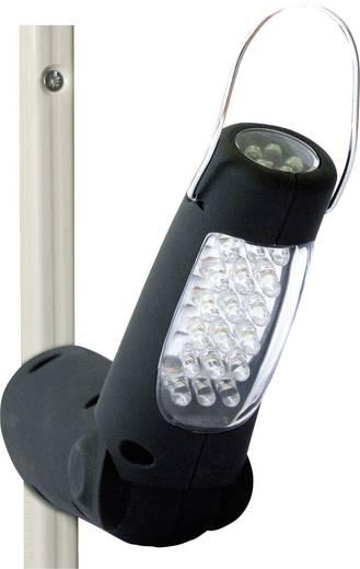 LED-es, akkus, mágneses munkalámpa, műhelylámpa, 23db LED Kunzer PL-023