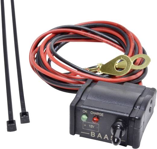 Autós akkufeszültség mérő, LED-es BAAS BA 22