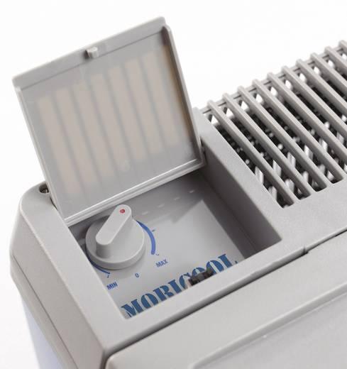 Szivargyújtós autós, elektromos hűtőláda, kompresszoros 12V/230V 40L-es világoskék Waeco MobiCool B40