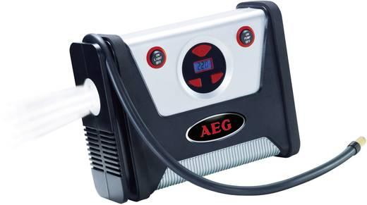 12 V-os szivargyújtó dugós autós kompresszor LED-es lámpával, 7bar, AEG KD 7,0