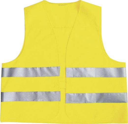 Láthatósági mellény, sárga fényvisszaverős mellény EN 471