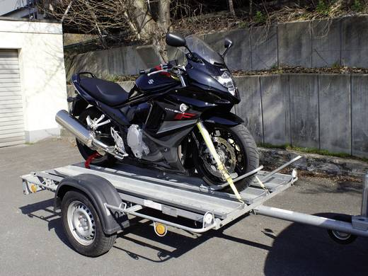 Motorkerékpár rögzítő heveder 2,5 m x 25 mm, 4 részes, 2 x 1399 kg, LAS 10323