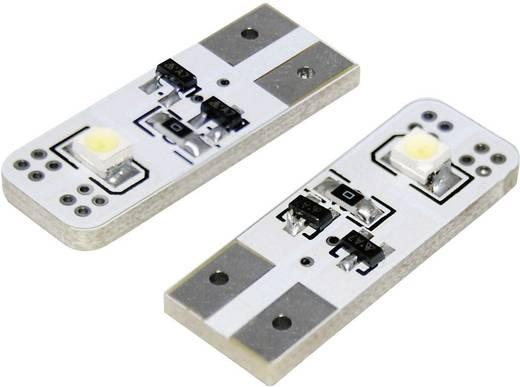 SMD LED-es izzó T10-es foglalattal fehér 26 mm x 10 mm x 6 mm Eufab