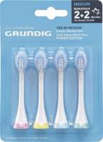 Tartalék fogkefe Grundig TB8030 elektromos fogkeféhez, TBB80 GMN0751 4 db-os készlet Grundig